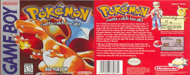פוקימון אדום להורדה / Pokemon Red Download