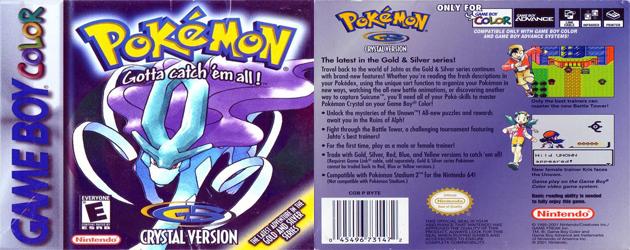 פוקימון קריסטל להורדה / Pokemon Crystal Download