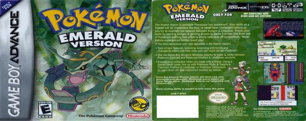 פוקימון ברקת להורדה / Pokemon Emerald Download