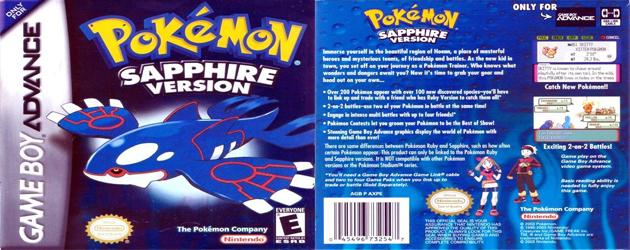 פוקימון ספיר להורדה / Pokemon Sapphire download