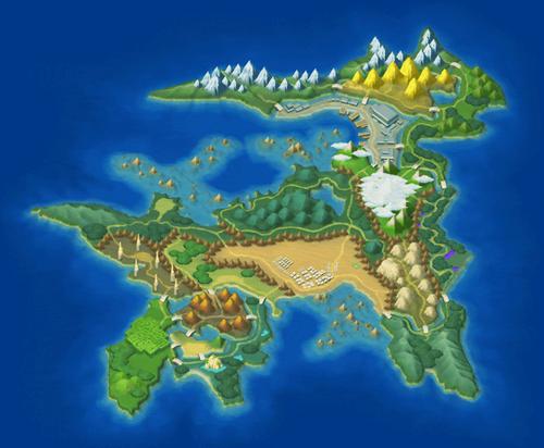 מפת פוקימון מסע כיבוש