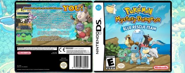 פוקימון צינוק מסתורי צוות הצלה כחול להורדה / Pokemon Mystery Dungeon – Blue Rescue Team Download